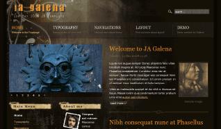 Шаблон JA Galena для CMS Joomla от JoomlArt