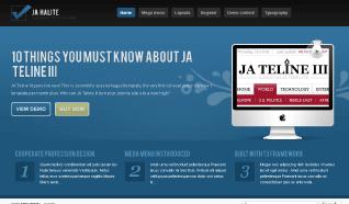 Шаблон JA Halite для CMS Joomla от JoomlArt