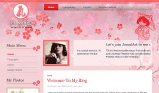 Шаблон JA Koniga для CMS Joomla от JoomlArt