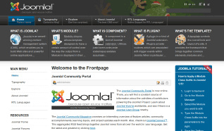 Шаблон JA Purity II для CMS Joomla от JoomlArt