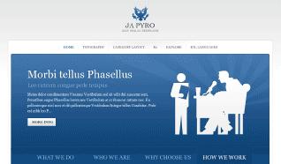 Шаблон JA Pyro для CMS Joomla от JoomlArt