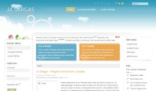 Шаблон JA Sargas для CMS Joomla от JoomlArt