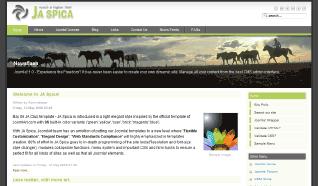Шаблон JA Spica для CMS Joomla от JoomlArt