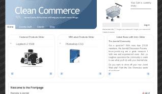 Шаблон JB Clean Commerce для CMS Joomla от JoomlaBamboo