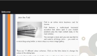 Шаблон JB Fold для CMS Joomla от JoomlaBamboo