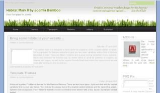 Шаблон JB Habitat2 для CMS Joomla от JoomlaBamboo