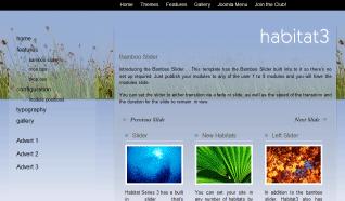 Шаблон JB Habitat3 для CMS Joomla от JoomlaBamboo