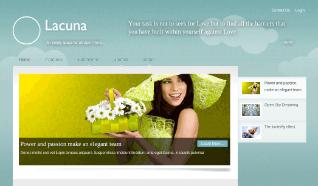 Шаблон JB Lacuna для CMS Joomla от JoomlaBamboo