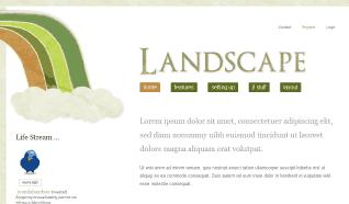 Шаблон JB Landscape для CMS Joomla от JoomlaBamboo