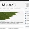 Шаблон JB New Media для CMS Joomla от JoomlaBamboo