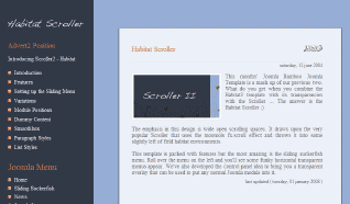 Шаблон JB Scroller2 для CMS Joomla от JoomlaBamboo