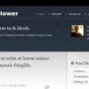 Шаблон JB Wood Flower для CMS Joomla от JoomlaBamboo
