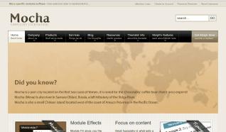 Шаблон JJ Mocha для CMS Joomla от JoomlaJunkie