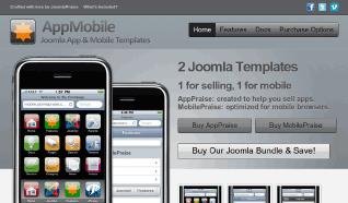 Шаблон JP AppPraise для CMS Joomla от JoomlaPraise