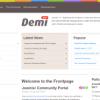 Шаблон JP Demi для CMS Joomla от JoomlaPraise