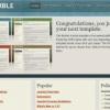 Шаблон JP Marble для CMS Joomla от JoomlaPraise