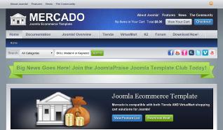 Шаблон JP Mercado для CMS Joomla от JoomlaPraise