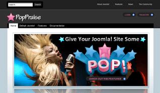 Шаблон JP PopPraise для CMS Joomla от JoomlaPraise