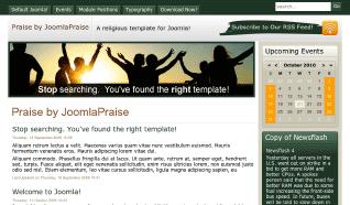 Шаблон JP Praise для CMS Joomla от JoomlaPraise