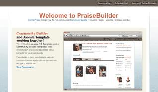 Шаблон JP PraiseBuilder для CMS Joomla от JoomlaPraise