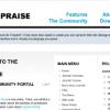 Шаблон JP SimplePraise для CMS Joomla от JoomlaPraise