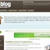 Шаблон JS Earthblog для CMS Joomla от JoomlaShack