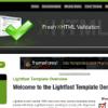 Шаблон JS Lightfast для CMS Joomla от JoomlaShack