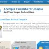 Шаблон JS Nova для CMS Joomla от JoomlaShack