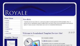 Шаблон JS Royale для CMS Joomla от JoomlaShack