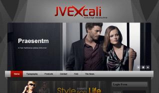 Шаблон JV Excali для CMS Joomla от JoomlaVision