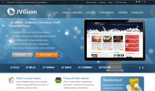 Шаблон JV Guan для CMS Joomla от JoomlaVision