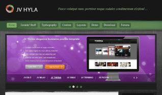 Шаблон JV Hyla для CMS Joomla от JoomlaVision