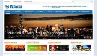 Шаблон JV Jaxar для CMS Joomla от JoomlaVision