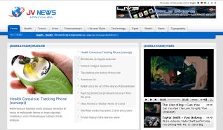 Шаблон JV News для CMS Joomla от JoomlaVision