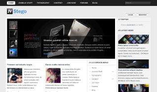 Шаблон JV Stego для CMS Joomla от JoomlaVision