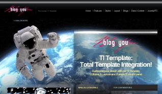 Шаблон JXTC Blog You для CMS Joomla от JoomlaXTC