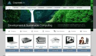 Шаблон JXTC CorporateLife для CMS Joomla от JoomlaXTC