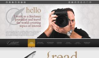 Шаблон JXTC Journalistix для CMS Joomla от JoomlaXTC