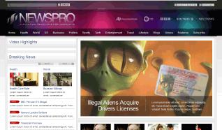 Шаблон JXTC NewsPro для CMS Joomla от JoomlaXTC