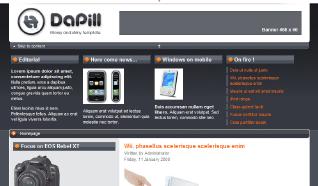 Шаблон NJ DaPill для CMS Joomla от NeoJoomla