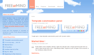 Шаблон NJ Free-ur-Mind для CMS Joomla от NeoJoomla