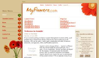 Шаблон NJ MyFlowers для CMS Joomla от NeoJoomla