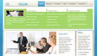 Шаблон NJ TwinMedia для CMS Joomla от NeoJoomla