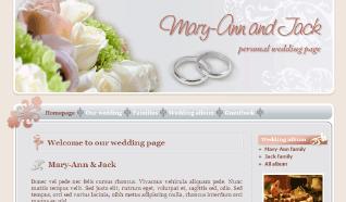 Шаблон NJ Wedding Time для CMS Joomla от NeoJoomla
