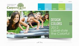 Шаблон OT Corporate Tree для CMS Joomla от OmegaTheme