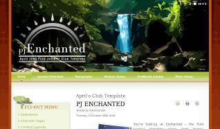 Шаблон PJ Enchanted для CMS Joomla от PureJoomla
