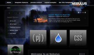 Шаблон PJ Nebulus для CMS Joomla от PureJoomla