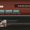 Шаблон PJ Stucco для CMS Joomla от PureJoomla