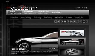 Шаблон PJ Velocity для CMS Joomla от PureJoomla