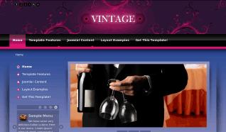 Шаблон PJ Vintage для CMS Joomla от PureJoomla